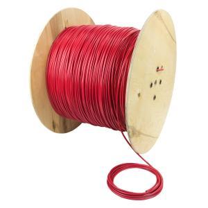 Нагревательный кабель одножильный с экраном DEVIbasic на бобинах