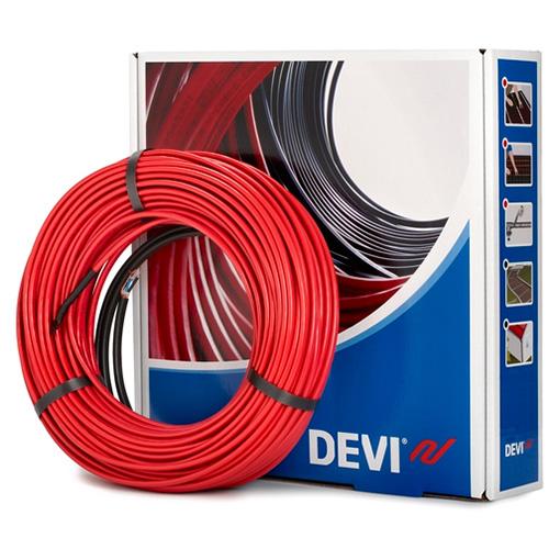 Нагревательный кабель двухжильный со сплошным экраном DEVIflex 10T