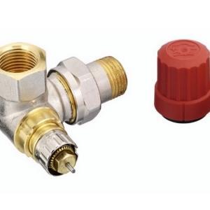 Клапан RA-N для двухтрубных насосных систем водяного отопления с предварительной настройкой.