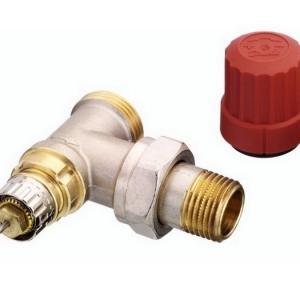 Клапан RA-N для двухтрубных систем водяного отопления. Используется совместно с термоголовками и приводами.