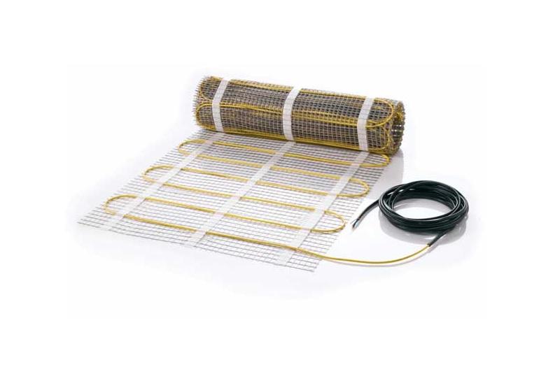 Нагревательный мат Veria — используется при устройстве тонких «теплых полов», без формирования толстой цементной стяжки.