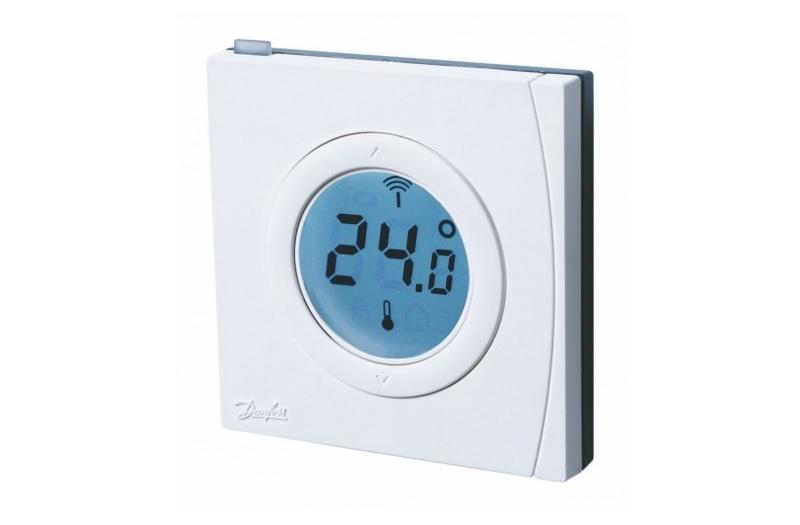 Датчик DEVIlink RS - для дистанционного контроля температуры воздуха. Используется для регулирования, установки, изменения температуры.