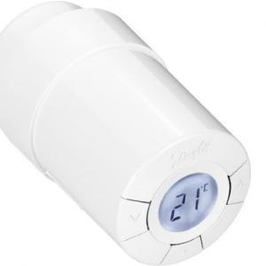 DEVIlink living connect - электронный радиаторный терморегулятор предназначенный для использования в жилых помещениях.