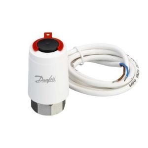 Термоэлектрический привод TWA и TWA-K применяют совместно с электронными комнатными термостатами.