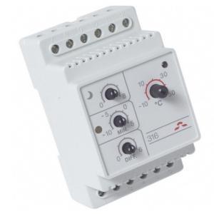 DEVIreg 316 - терморегулятор для систем снеготаяния с расширенными функциями регулировки.