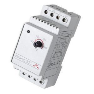 Терморегулятор DEVIreg 330 + 5 гр. С / + 45 гр. С, для управления процессами обогрева. Монтаж - крепление на профиль DIN.