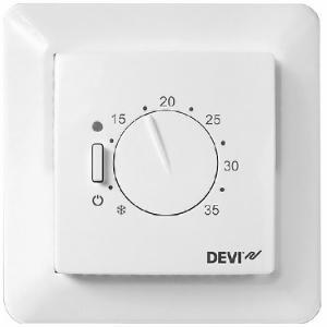 Терморегулятор DEVIreg 531 для систем отопления. Диапазон регулирования + 5 - + 35 гр. С.