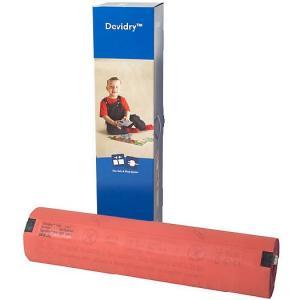 DEVIdry 100 — нагревательный мат с теплоизолятором. Применяются внутри помещений для комфортного подогрева или полного отопления.