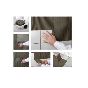 Mira 3100 unifix — серый клей для плитки на основе цемента, усиленный полимерами, для укладки керамической плитки на пол и стены.