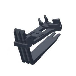 Крепеж DEVIclip Guardhook — крепление пластиковое для монтажа кабеля на поверхности и краю кровли.