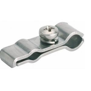 Releif Сlip 1 — крепление винтовое для монтажа 1 линии кабеля на трос в водосточной трубе.