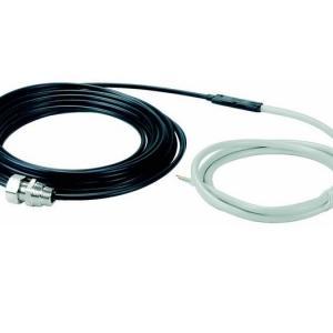 DEVIaqua 9T — двухжильный экранированный нагревательный кабель с соединительным проводом, герметичными муфтами.