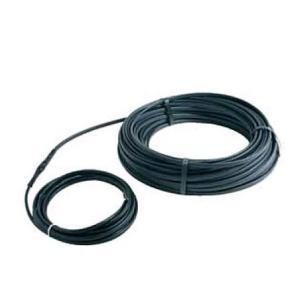 Саморегулирующийся кабель DEVIiceguard 18 Readymade. Применяются для обогрева водосточных труб, желобов, ендов, кромки кровли.