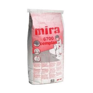 Самовыравнивыющаяся смесь для пола на основе цемента Mira 6700 cemplan.