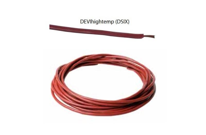 DEVIhighetemp (DSIX) — нагревательный кабель применяется для технологического подогрева при высоких температурах.
