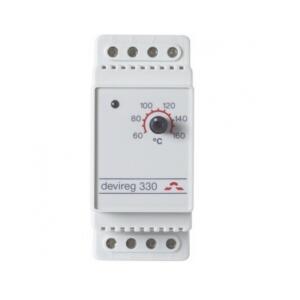 Электронный терморегулятор DEVIreg 330 +60 гр. C / +160 гр. C, для управления высокотемпературными системами обогрева.