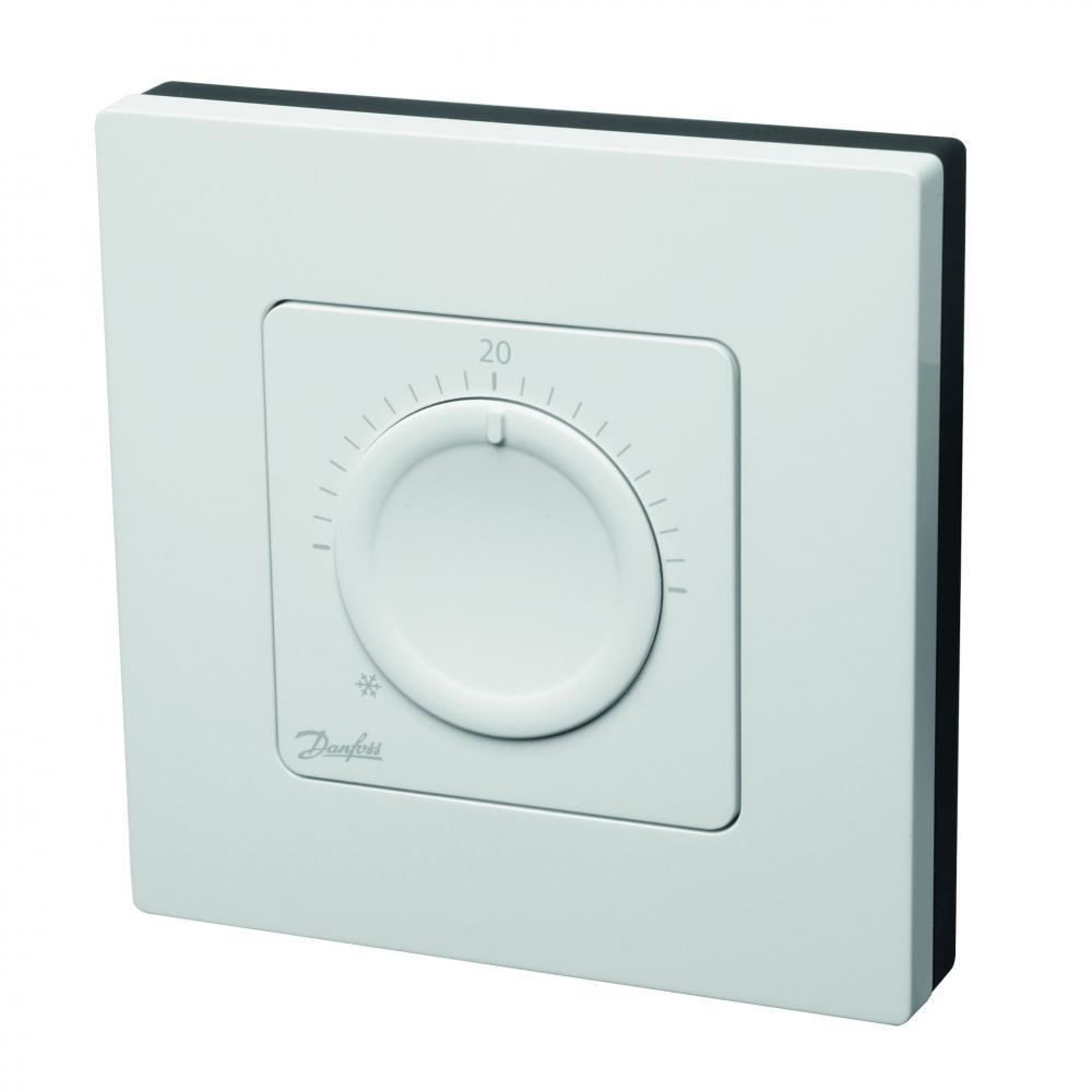 Danfoss icon dial электронный терморегулятор для водяных теплых полов