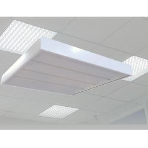Светодиодный светильник Armstrong применяется в офисных помещениях для освещения, монтируются на потолок.