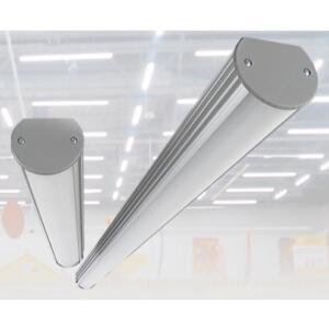 Светодиодный светильник LINE монтируется на любой поверхности.