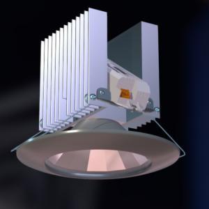 Врезной светодиодный светильник STRONG