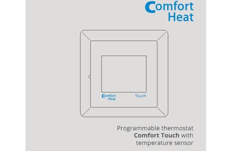 Инструкция на терморегулятор Comfort Touch