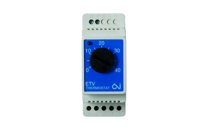 Терморегулятор ETV-1991 для труб