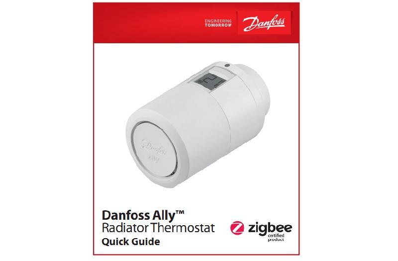 Инструкция по монтажу термостата Danfoss Ally